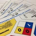 Etiquetas rombo de identificación riesgos