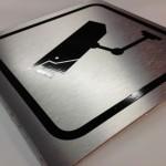 Letrero en aluminio compuesto