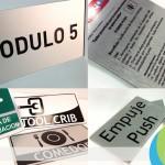 Letreros en aluminio compuesto